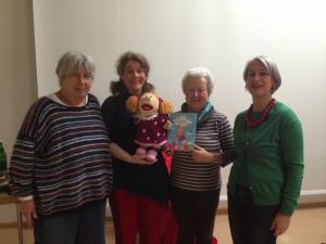 Frau Göbel, Frau Göske und Frau Mainzer, die drei Damen von der KÖB St. Laurentius