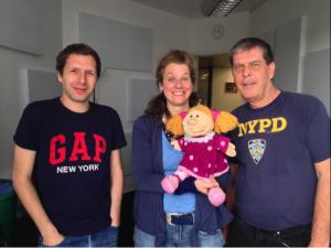 Jeffrey, Fritzi, die Prinzessin und Michael Kiesewetter